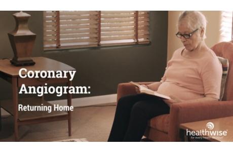 Angiografía coronaria: La vuelta al hogar